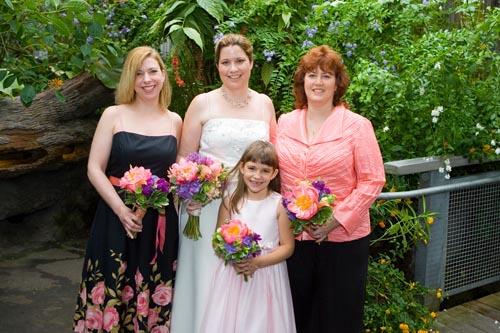 Lisa, Lori, Kim, & Lily